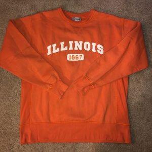 Vintage University of Illinois crewneck